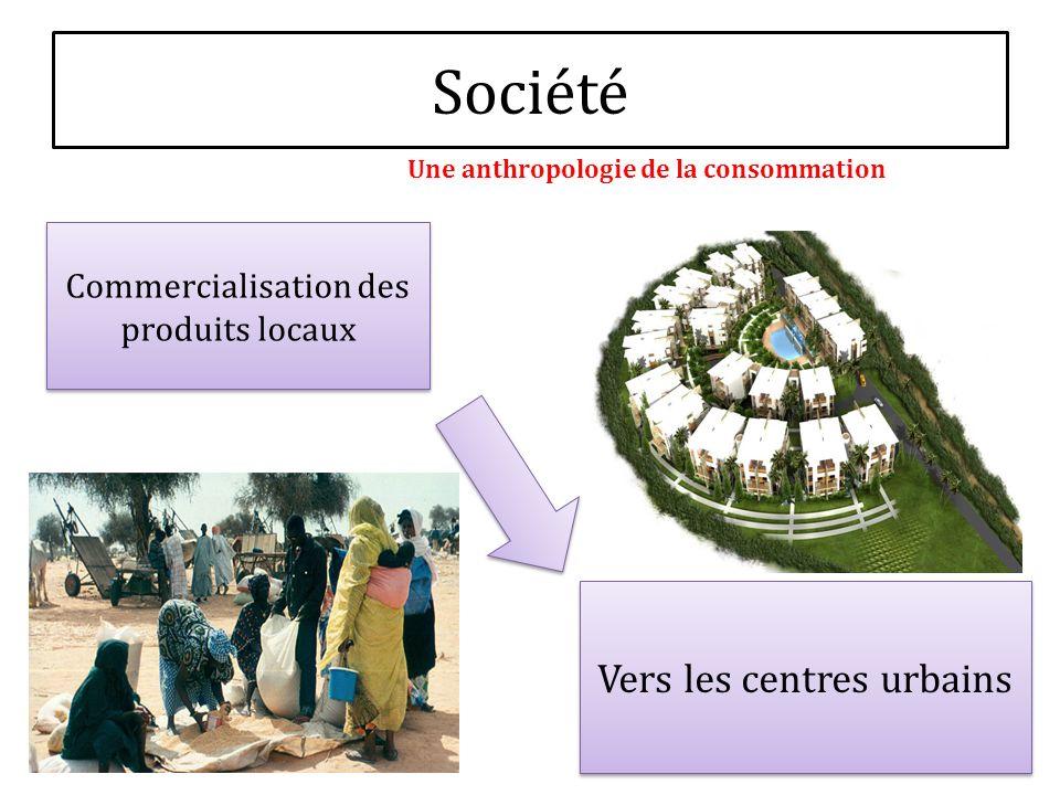Société Commercialisation des produits locaux Vers les centres urbains Une anthropologie de la consommation