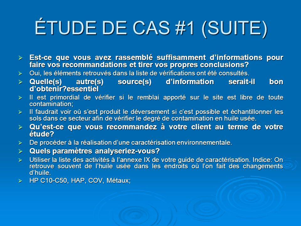ÉTUDE DE CAS #2 Client: Coffrages Lanaudière inc..