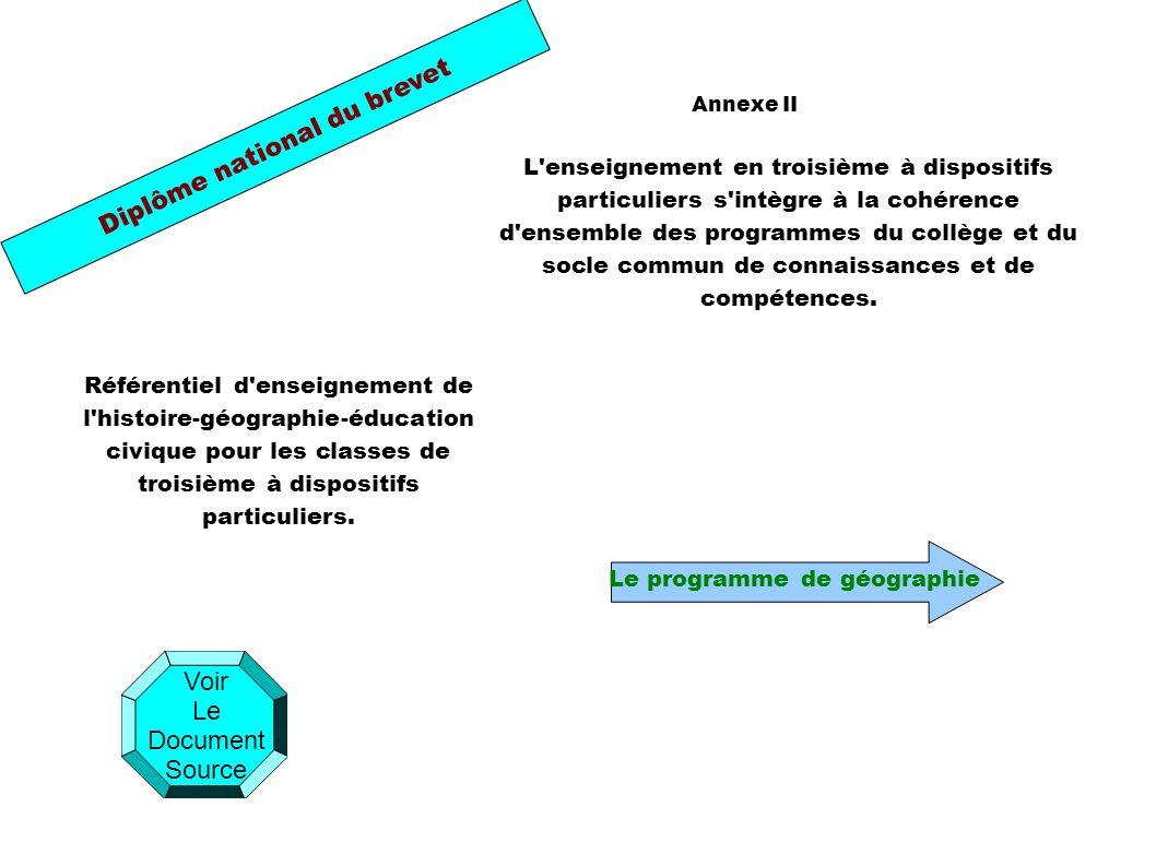 Géographie (27 heures) I - Habiter la France (horaire conseillé : 9 heures) Thème 1 - Le territoire national et sa population (horaire conseillé : 4 heures) Thème 2 - De la ville à l espace rural, un territoire sous influence urbaine (horaire conseillé : 5 heures) II - Aménagement et développement du territoire français (horaire conseillé : 9 heures) Thème 1 - L organisation du territoire français (horaire conseillé : 4 heures) Thème 2 - Les espaces productifs (horaire conseillé : 5 heures) III - La France et l Union européenne (horaire conseillé : 9 heures) Thème 1 - Réalités de la puissance de l Union européenne (horaire conseillé : 4 heures) Thème 2 - La France intégrée dans l Union européenne (horaire conseillé : 3 heures) Thème 3 - La France, une influence mondiale (horaire conseillé : 2 heures) Retour page D accueil Cliquer sur les thèmes pour y accéder.