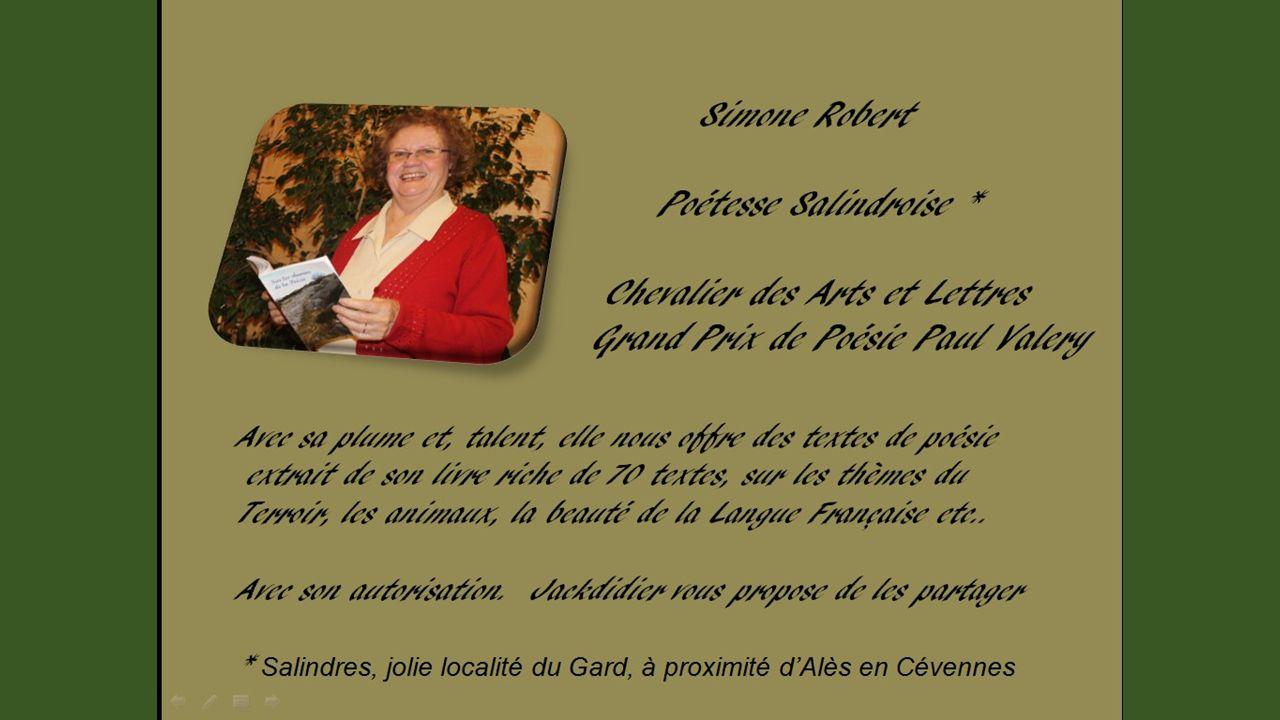 LE SCEPTRE DE VIEILLESSE Texte de Simone Robert, proposé par Jackdidier
