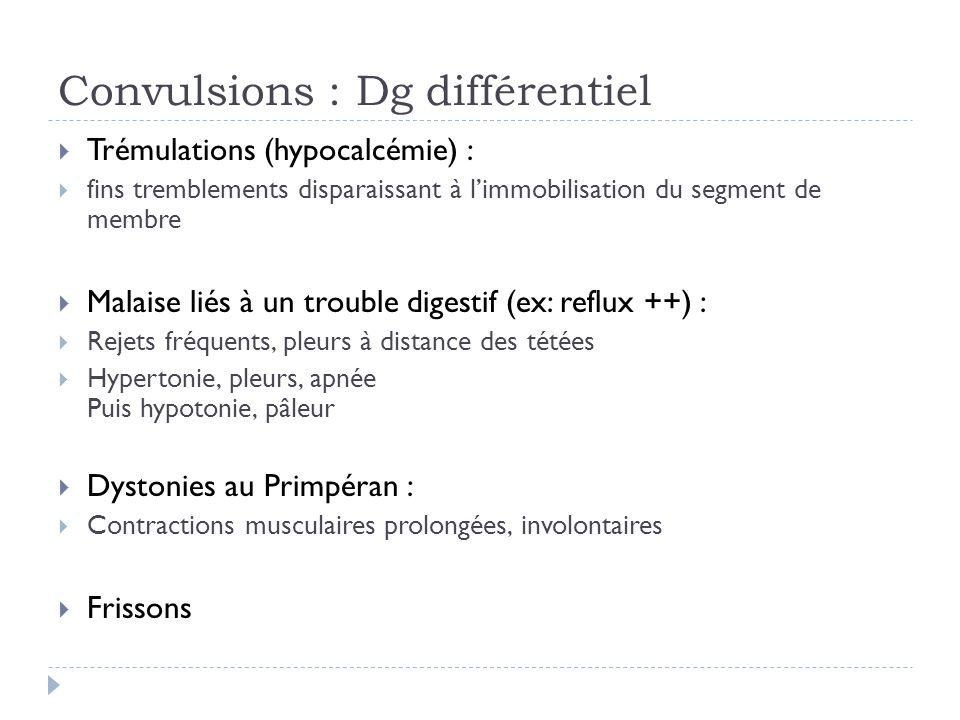 Convulsions fébriles simples