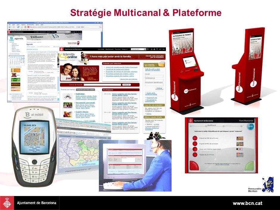 www.bcn.cat Stratégie Multicanal & Plateforme