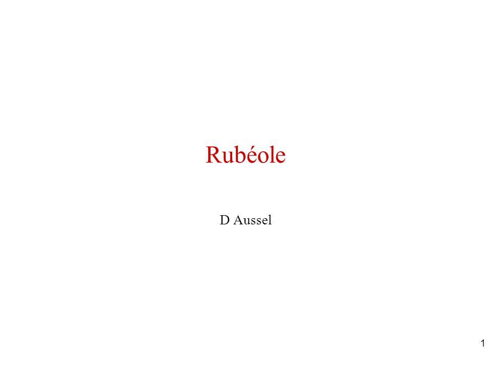 1 Rubéole D Aussel