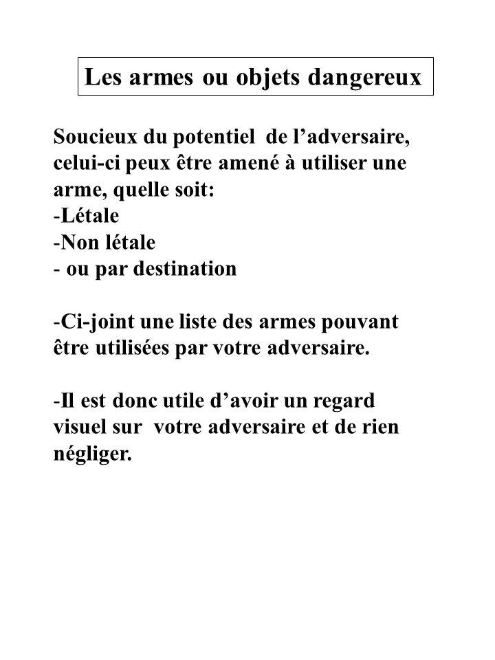 6ème catégorie, acquisition, détention libres port interdit Les aérosols lacrymogènes ou irritants