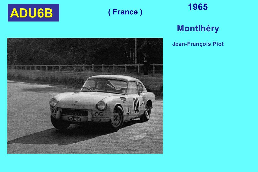 ADU6B 1965 Montlhéry Jean-François Piot ( France )