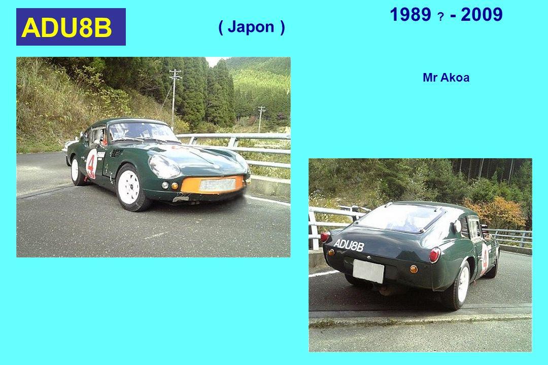ADU8B 1989 ? - 2009 Mr Akoa ( Japon )