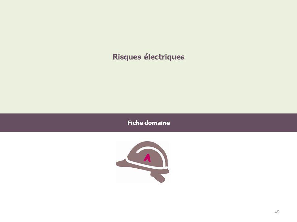 Fiche domaine Risques électriques 49