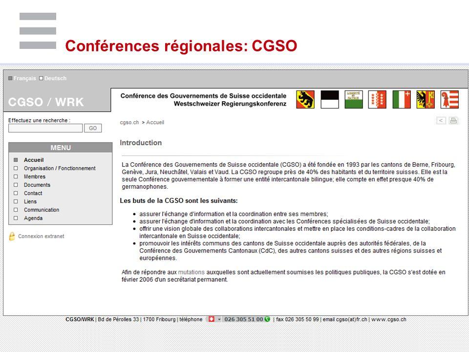 | ©IDHEAP - NOM@idheap.unil.ch | | 19/05/2014 | Conférences régionales: CGSO