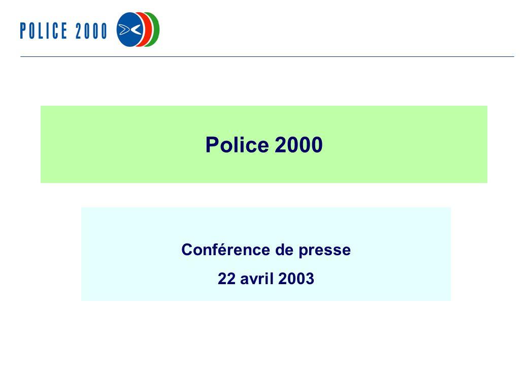 47 Police 2000 Conférence de presse 22 avril 2003