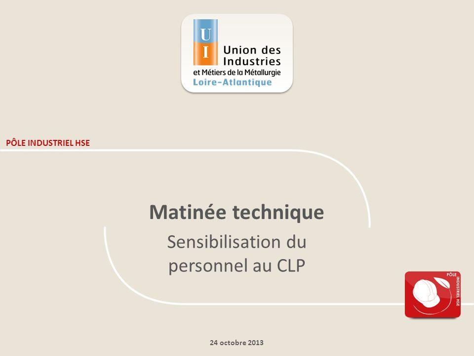 Matinée Technique - Sensibilisation du personnel au CLP – 24 octobre 2013 22 La classification des substances Exemple de la toxicité aigue – voie cutanée :