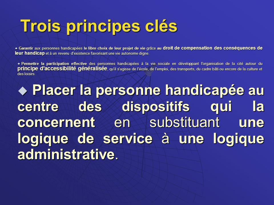 Architecture institutionnelle pour la politique du handicap Régional Départemental Pilotage et répartition des financements C.N.S.A.