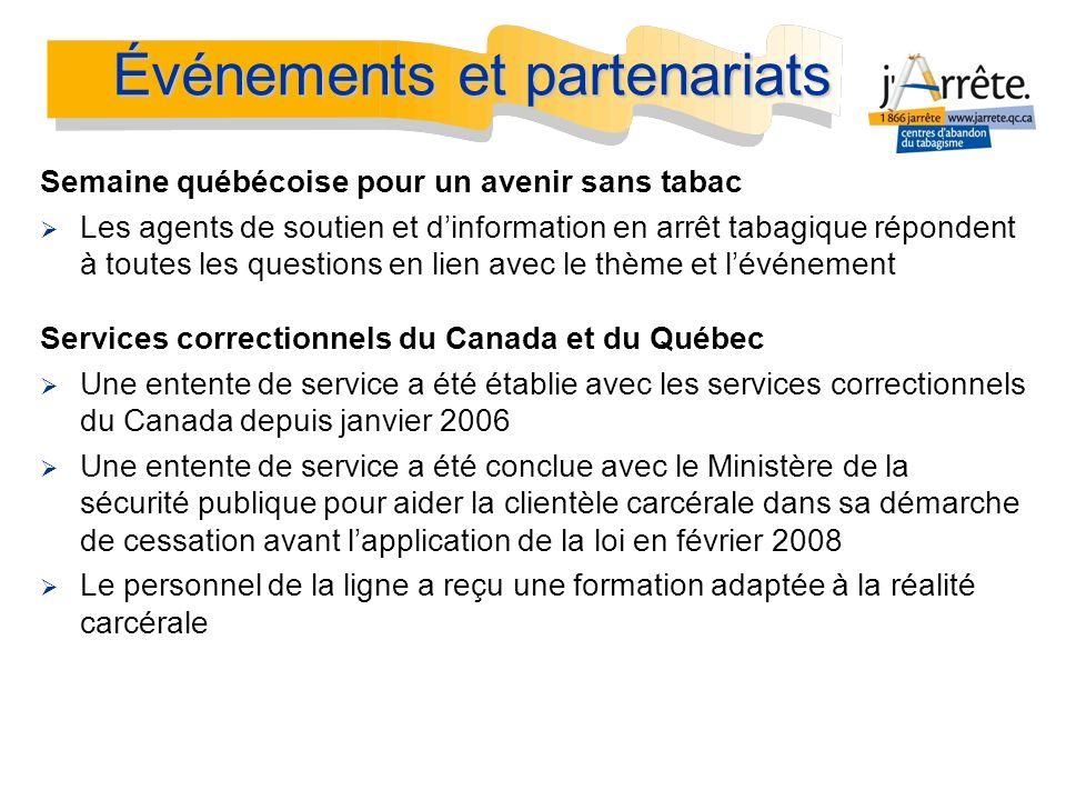 Semaine québécoise pour un avenir sans tabac Les agents de soutien et dinformation en arrêt tabagique répondent à toutes les questions en lien avec le