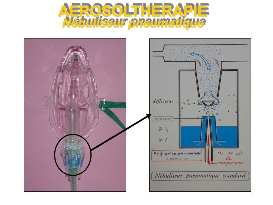 AEROSOLTHERAPIE Nébuliseur Ultrasonique