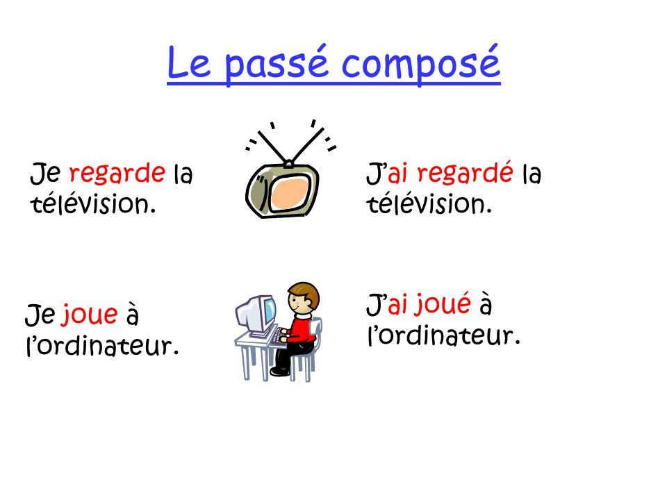 Le passé composé avec être You have two ways of forming the perfect tense in French: 1.Most verbs take avoir + past participle 2.A few verbs (13) take être + past participle