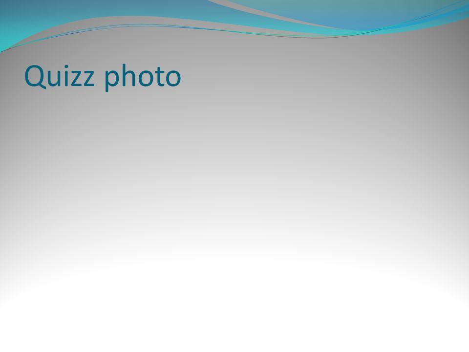 Quizz photo