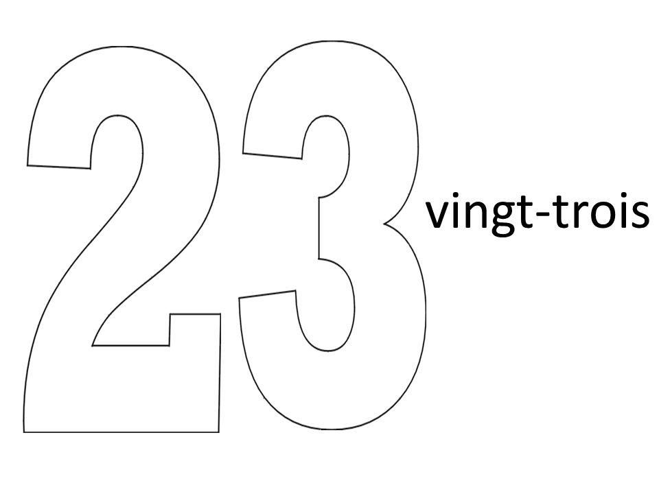 vingt-trois