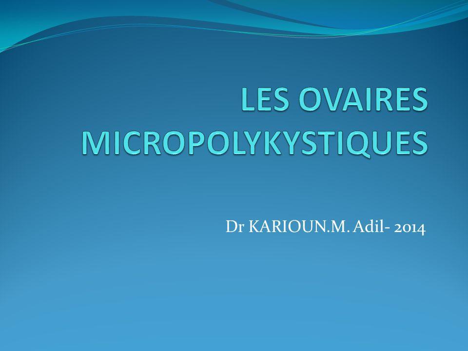 Dr KARIOUN.M. Adil- 2014