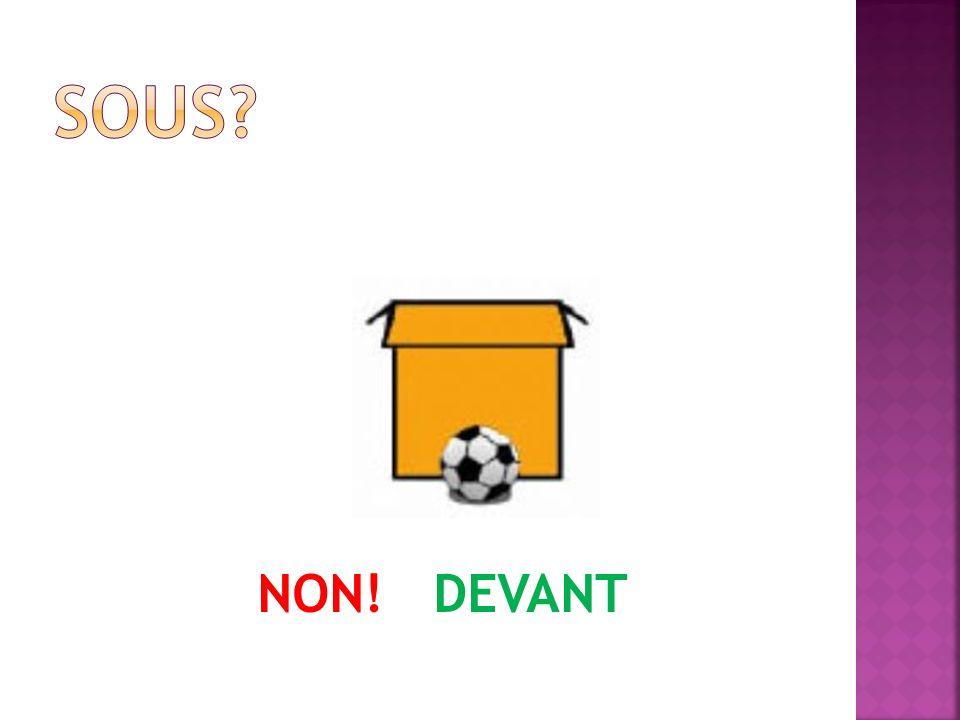 NON! DEVANT