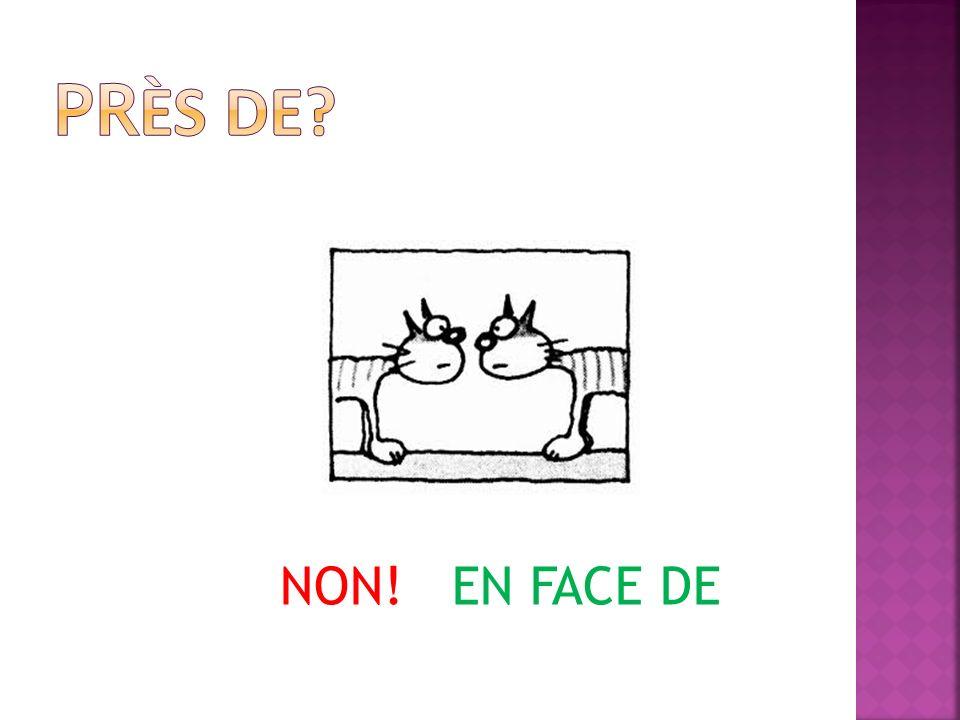 NON! EN FACE DE