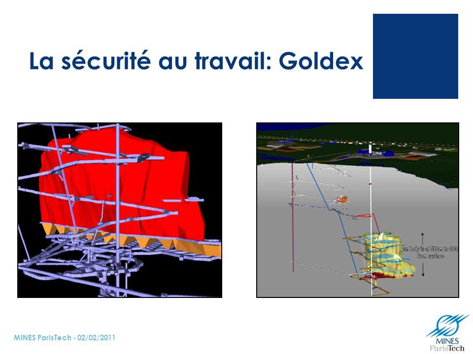 La sécurité au travail: Goldex MINES ParisTech - 02/02/2011
