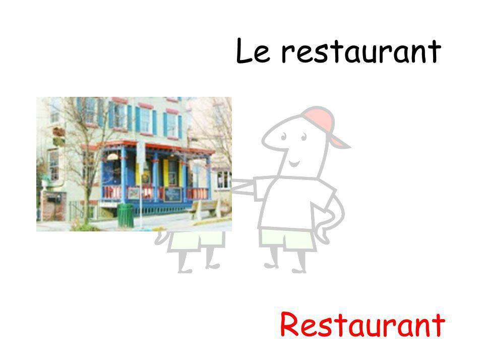 Restaurant Le restaurant