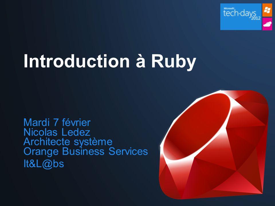 http://rubylive.fr/ @RubyLiveFR http://www.rubyfrance.org/ http://www.railsfrance.org/ Google groups: Rennes on Rails Apéros Ruby Railsfrance Ruby on Rails: Core @RubyJobsFR La communautée