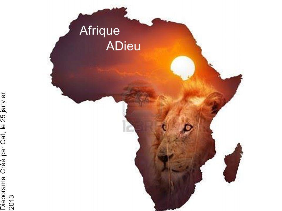 Diaporama Créé par Cat, le 25 janvier 2013 Afrique Adieu Belle Africa Afrique ADieu