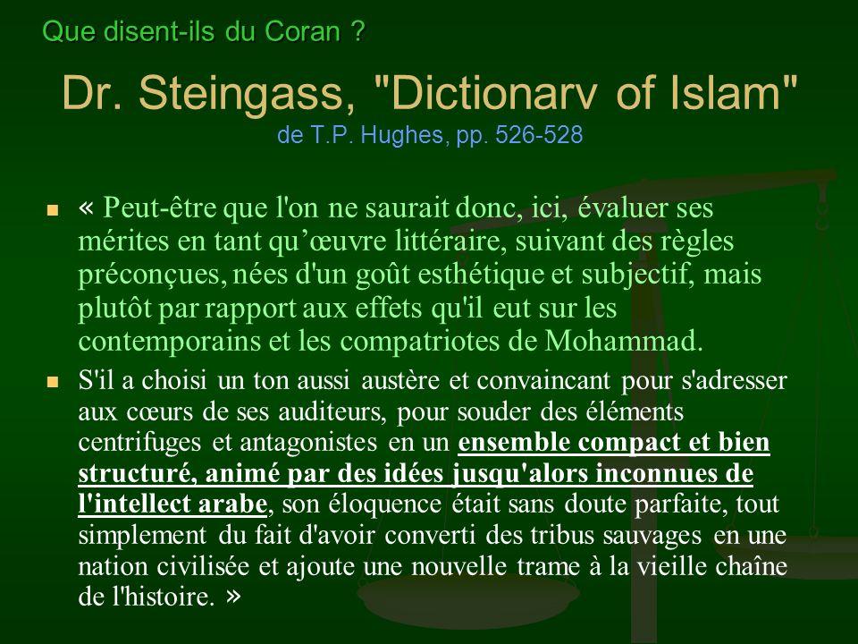 Dr. Steingass,
