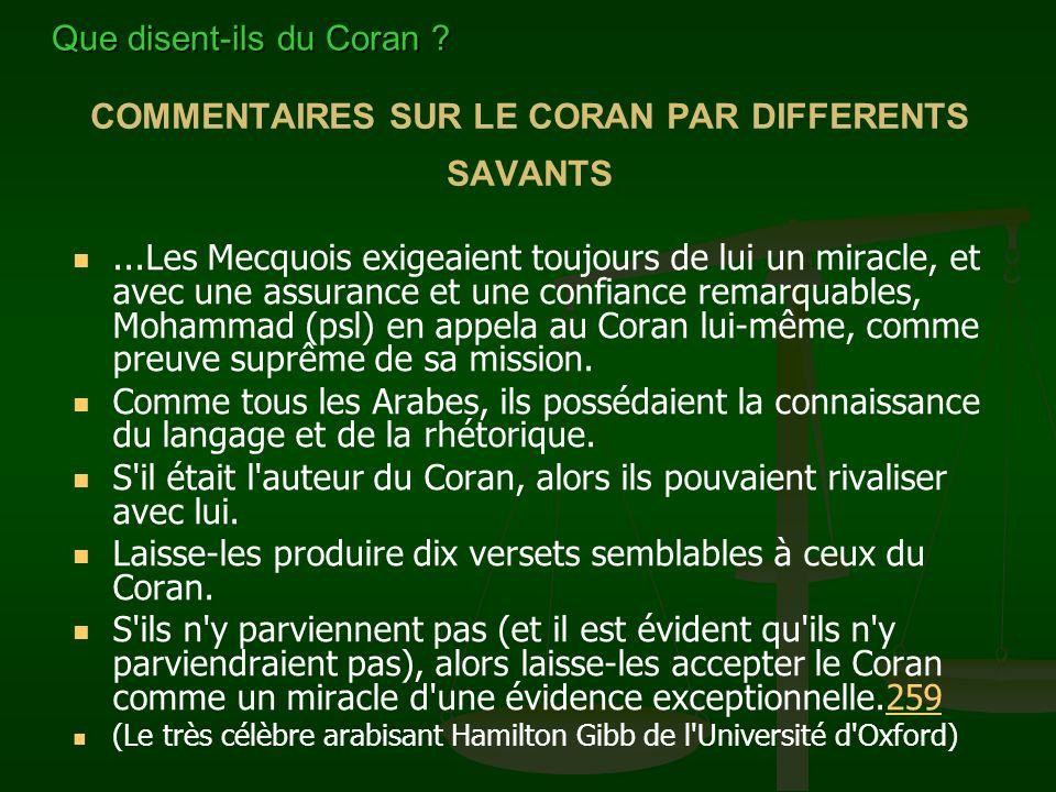 L'élément essentiel et définitif de ma conversion à l'Islam est le Coran. J'ai commencé à l'étudier avant ma conversion avec un esprit critique d'inte