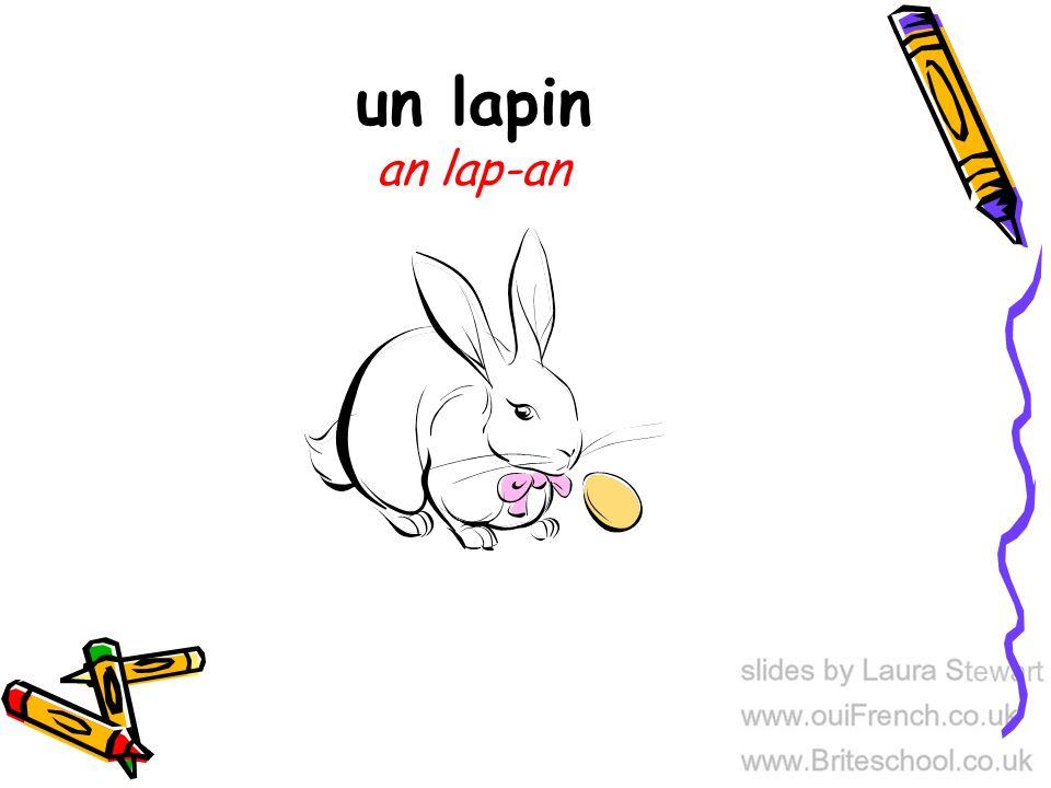 un lapin an lap-an
