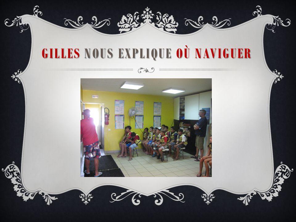 GILLES NOTRE PROFESSEUR DE VOILE Gilles !!!