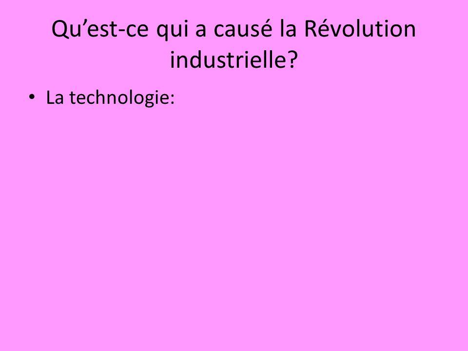 La technologie: