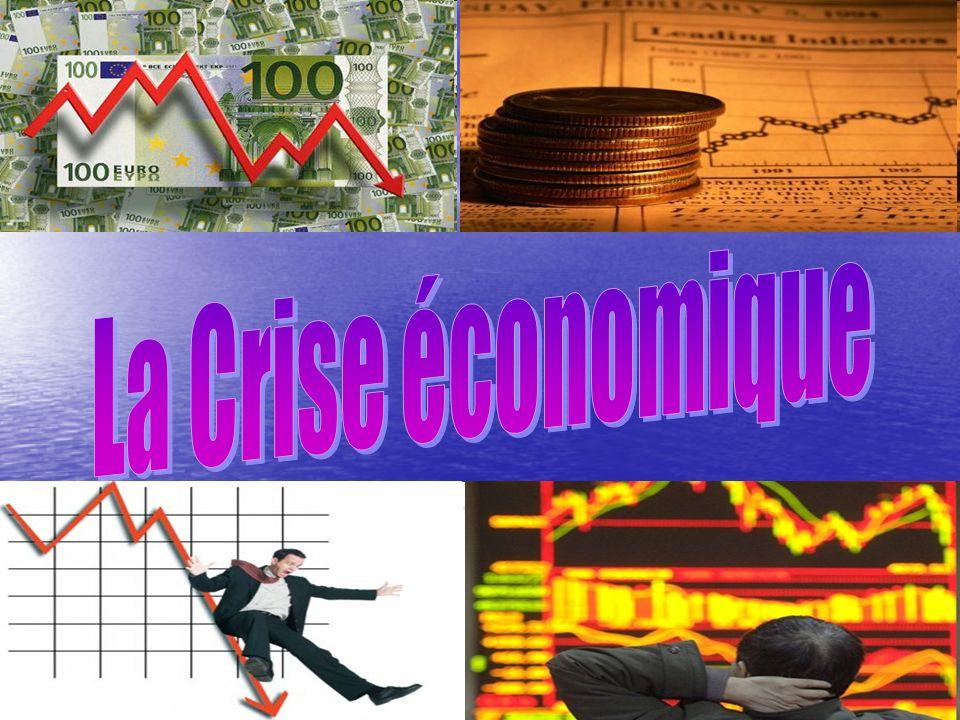 LA CRISE ECONOMIQUE: LA CRISE ECONOMIQUE: A.DEFINITION; A.