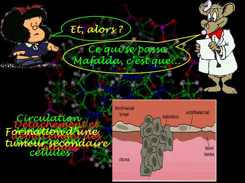 Et, alors .Ce qui se passe Mafalda, cest que...