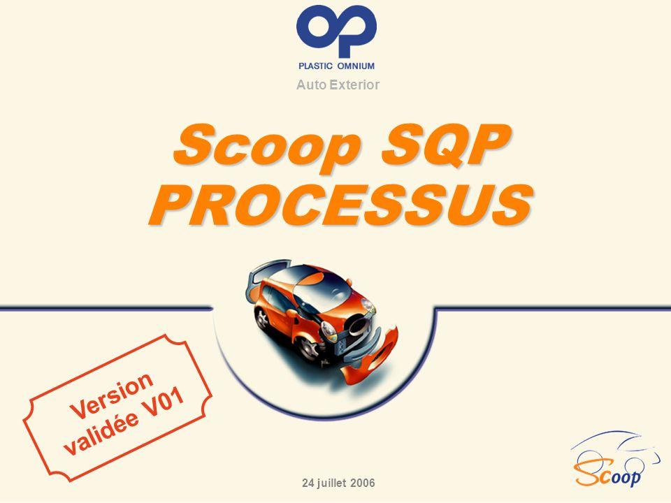 Auto Exterior Scoop SQP PROCESSUS 24 juillet 2006 Version validée V01