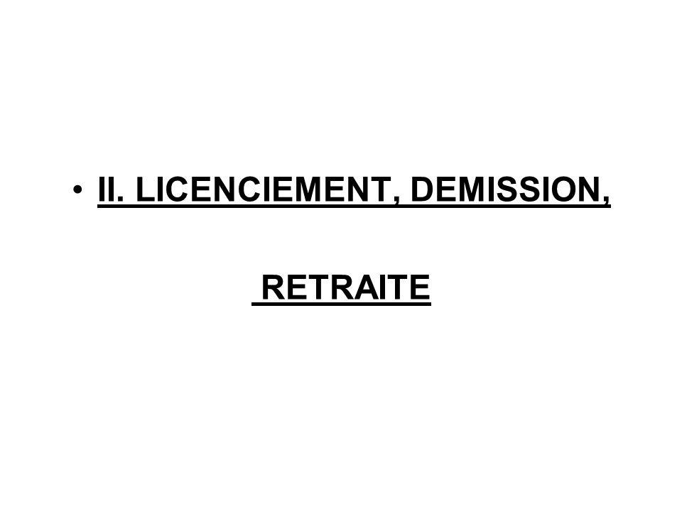 Récapitulatif des causes de licenciement pour faute, et de leurs conséquences La faute, cause réelle et sérieuse La faute graveLa faute lourde Justifie le licenciement avec: - Droit au préavis, - Indemnités de licenciement, - Indemnités compensatrice de congés payés Justifie le licenciement sans: - Droit au préavis, - Aucune indemnités de licenciement, - Droit à Indemnités compensatrice de congés payés Justifie le licenciement sans aucune indemnité.