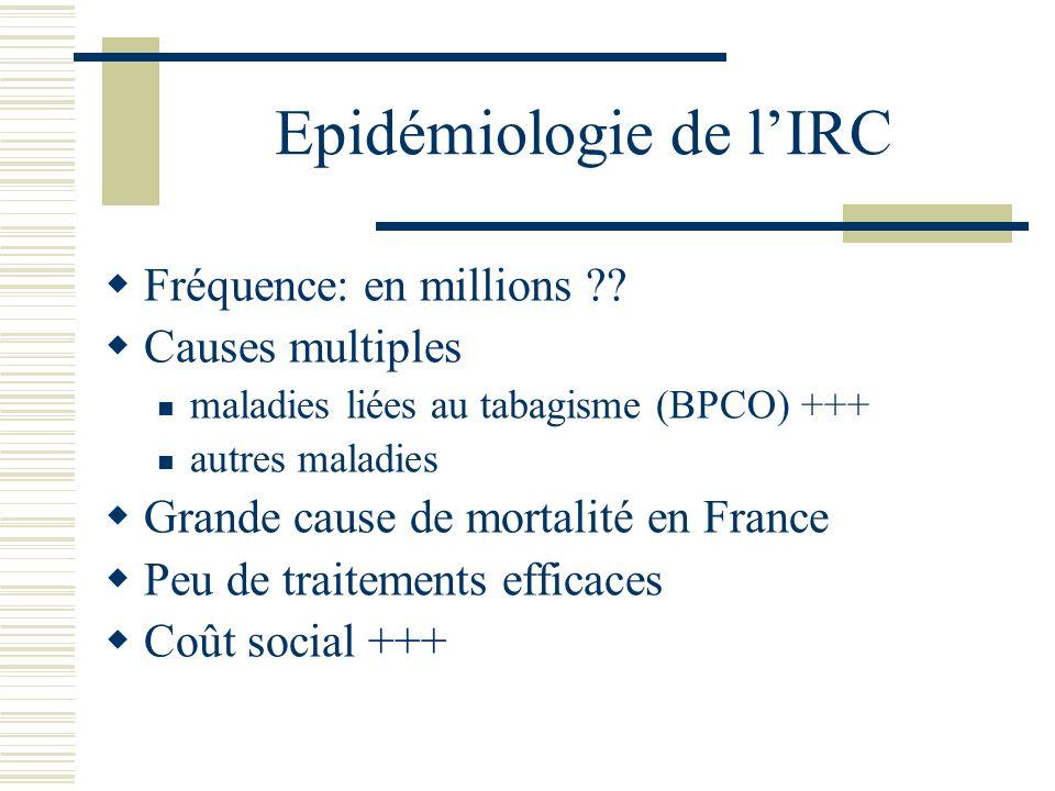 PHYSIOPATHOLOGIE (SIMPLIFIEE) DE LIRC