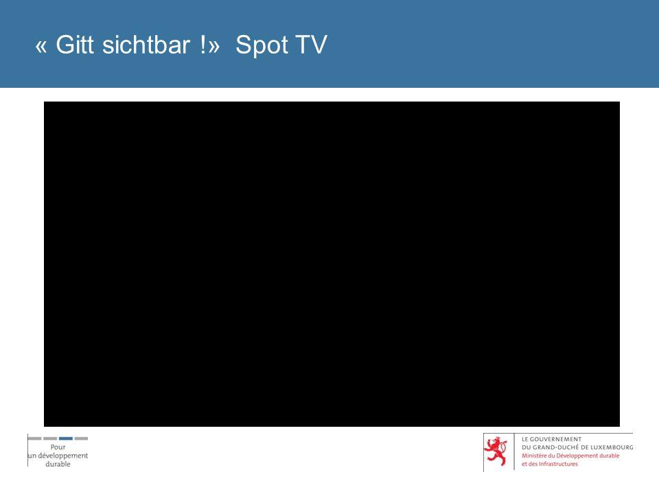 « Gitt sichtbar !» Spot TV