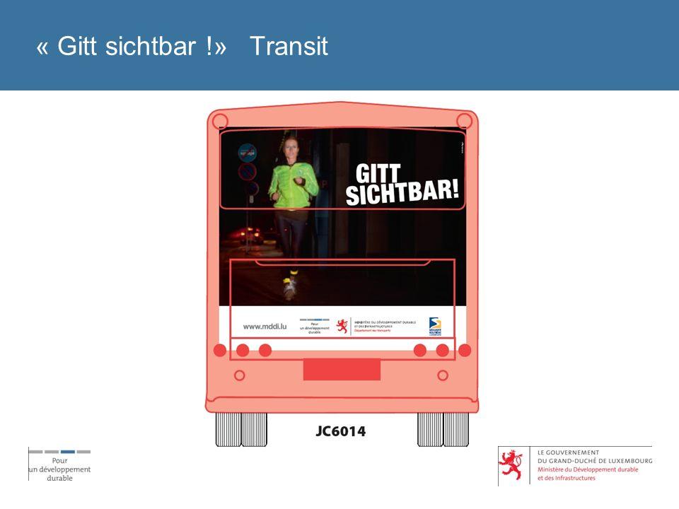 « Gitt sichtbar !» Transit