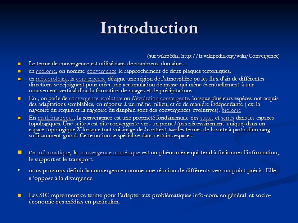 For instance, the protocol Languages play a major role in the evolution and the progression of the convergence between mobile and the internet Languages play a major role in the evolution and the progression of the convergence between mobile and the internet thus, we have move from written communication (paging) to oral communication (mobile) and going back to the written one (mobile internet) and may be to a mixture (vocal mobile internet) thus, we have move from written communication (paging) to oral communication (mobile) and going back to the written one (mobile internet) and may be to a mixture (vocal mobile internet)