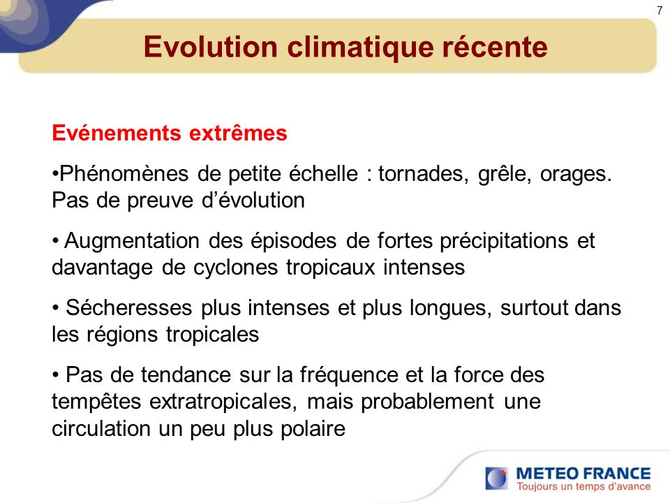 Scénarios du GIEC Dans les modèles, il faut introduire lévolution des forçages radiatifs anthropiques.