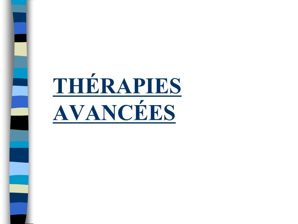 Thérapies Spécialisés: Anticoagulation n HP Groupe 4, bien sûr! n Mais aussi, risque de TPP/EP avec: –Dysfonction ventricule (G) – Circulation veineus