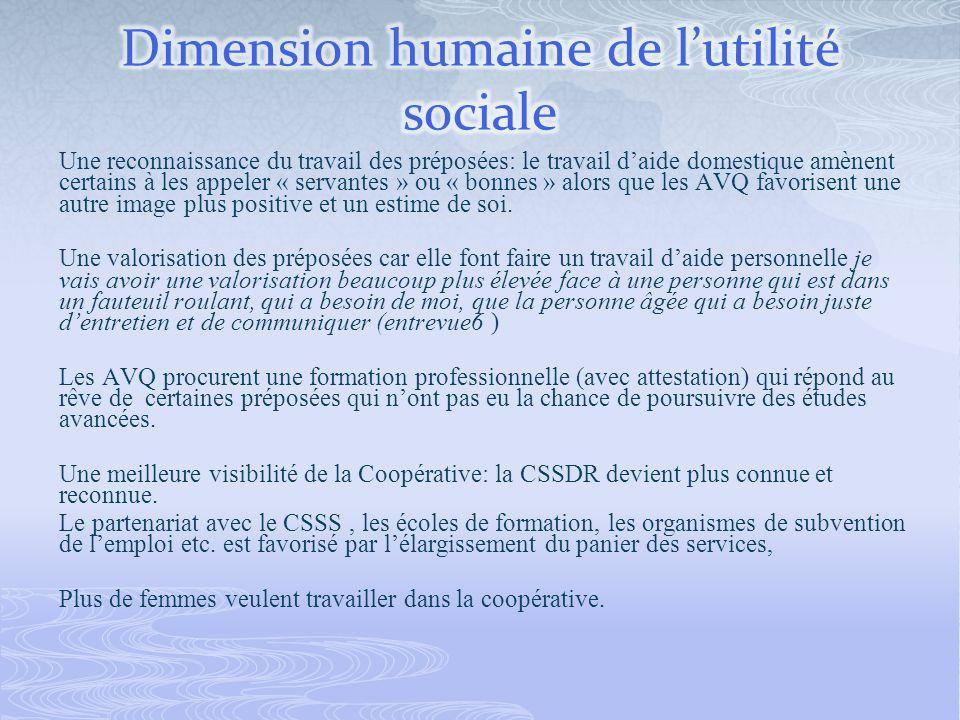 La CSSDR na pas su équilibrer la viabilité financière et lutilité sociale posant ainsi léternelle question du sous financement des EESAD et leur capacité à répondre encore à leur mission sociale.