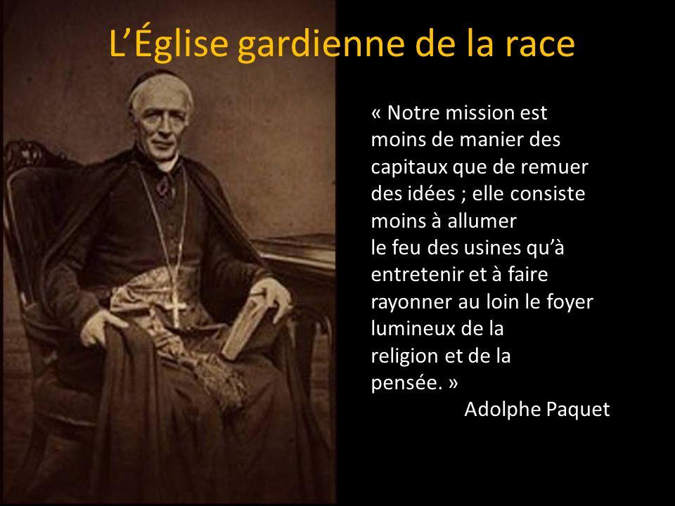 « Notre mission est moins de manier des capitaux que de remuer des idées ; elle consiste moins à allumer le feu des usines quà entretenir et à faire rayonner au loin le foyer lumineux de la religion et de la pensée.
