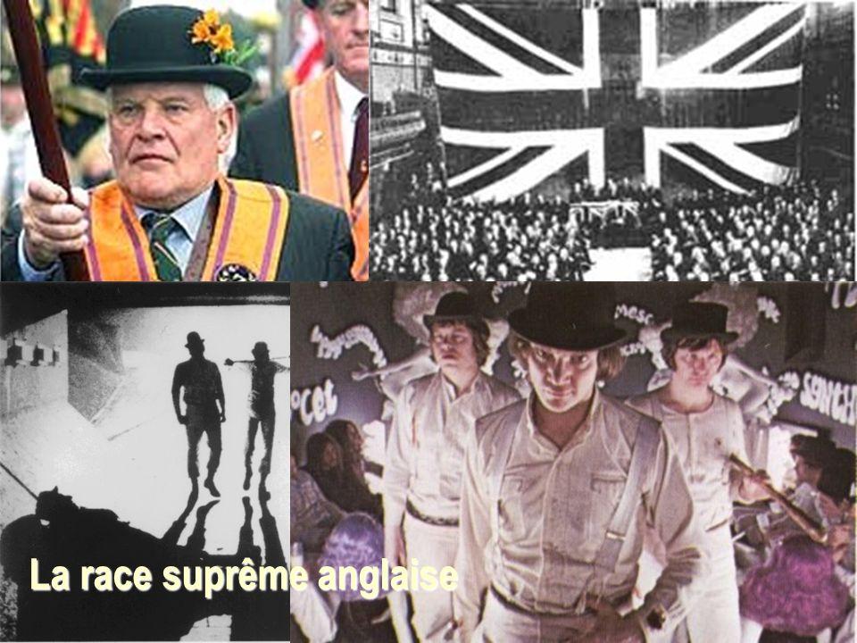 La race suprême anglaise