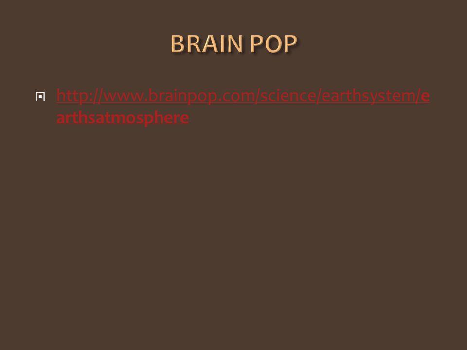 http://www.brainpop.com/science/earthsystem/e arthsatmosphere http://www.brainpop.com/science/earthsystem/e arthsatmosphere
