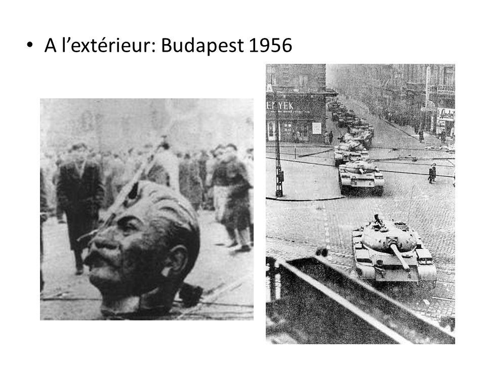 A lextérieur: Budapest 1956