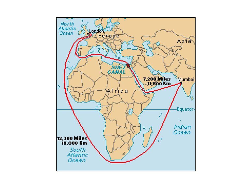 Contexte 1869 – le Canal a été creusé par les investitures françaises et britanniques pour relier la mer Méditerranée à la mer Rouge La Grande-Bretagne et la France ont pris largent des péages