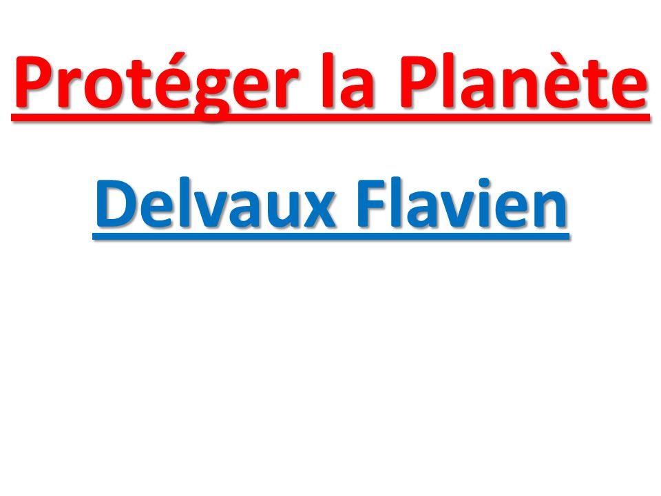 Protéger la Planète Delvaux Flavien