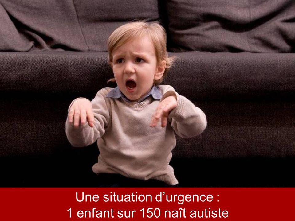 * Sondage OpinionWay mars 2010 Une situation durgence : 1 enfant sur 150 naît autiste